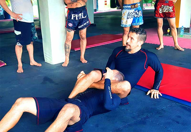 grappling and the fighting arts - muay thai sangha