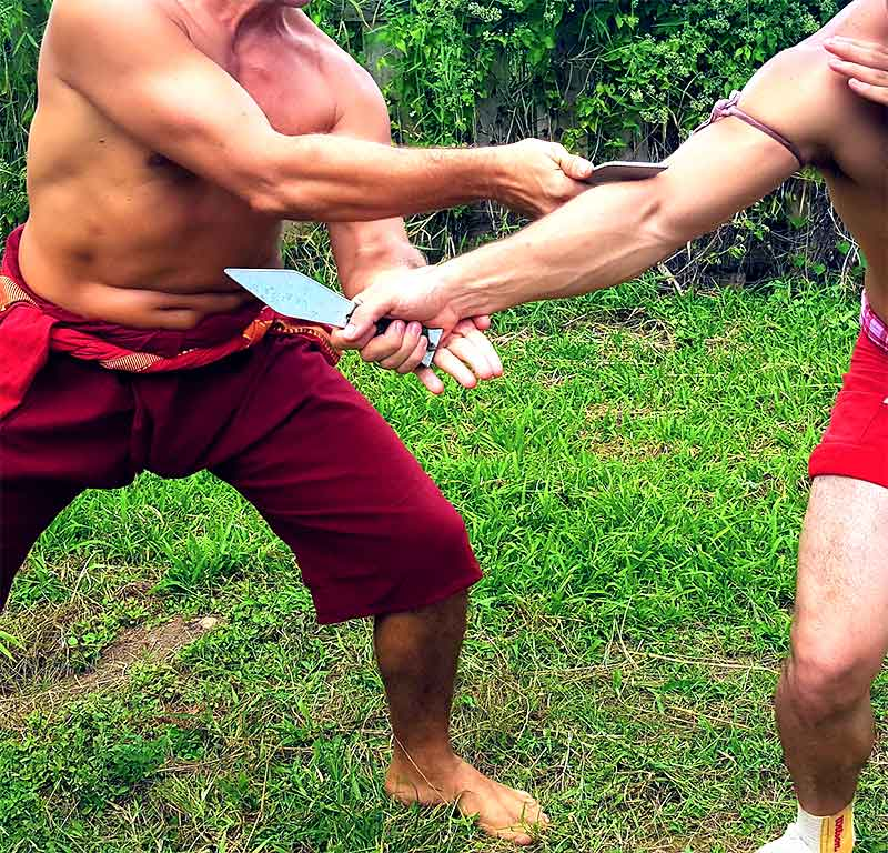 knife fighting arts in thailand