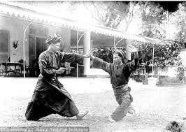 Ancient masters sharing their skills