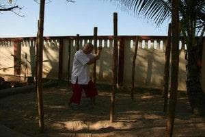 Bamboo training increase our surrounding awareness