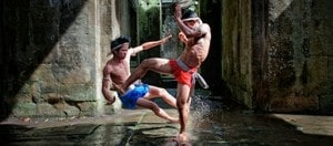 Bokator kick training