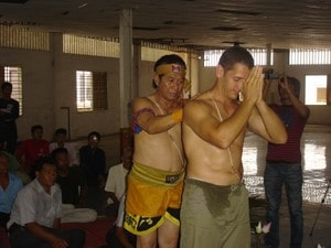 Kru Pedro has been accepted as a member of the Cambodian conservation of martial arts