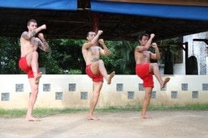 One leg hold training