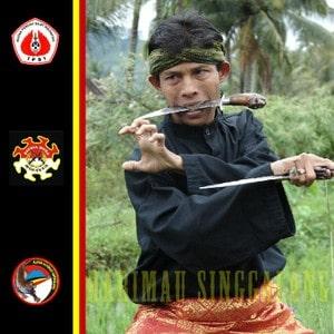 Pak Haji Sofyan Nadar founder of Harimau Singgalang