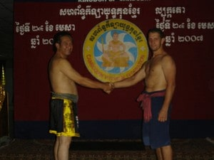 shaking hands with ajarn sankimseang